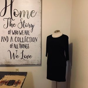 Ralph Lauren mid-sleeve Black dress